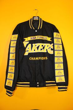 cb1ed5adcff New #NBA Los Angeles Lakers Champions Reversible Real Wool Jacket Men' 4xl  from $49.99