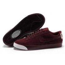 timeless design 66290 f5cb5 Nike Wmns Blazer Faible Brun Femme Sneakers Paris-20