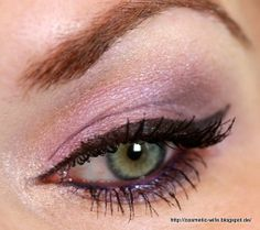... noch ein Make up Blog ...: Essence LE Ice ice baby - Swatchs und Tragebilder