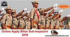 Bihar Police Sub Inspector Online form 2019 Online Application Form, Online Form, Apply Online, Police, How To Apply, Reading, Reading Books, Law Enforcement