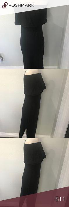 off the shoulder dress DIAMANTE SIDE SLITS TUBE top DRESS OFF THE SHOULDER BLACK Diamante Dresses Strapless