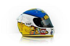 "HJC R-PHA10 J.Rogatkin 2012 ""Homer Simpson"" by Tribilia Design"