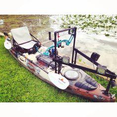Diy kayak for bowfishing