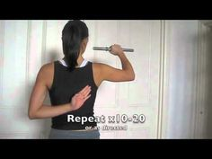 LASD Physio Shoulder Exercises: Control and Proprioception - YouTube