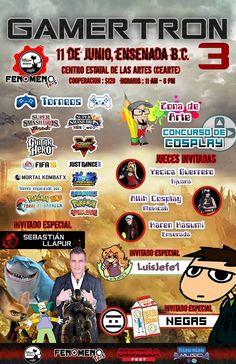 GAMERTRON 3, 2016 - Baja California, México, 11 de Junio 2016 ~ Kagi Nippon He ~ Anime Nippon-Jin