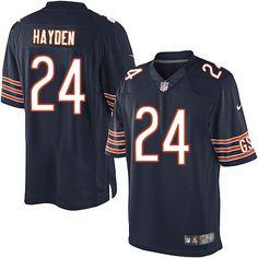 nike chicago bears kelvin hayden jersey men navy blue 24 team color nfl jerseys sale.
