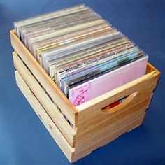 diskeeper ultimate lp storage crate to store your lp collection with ease and style