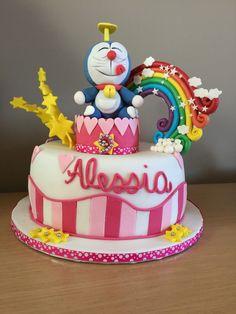 Doraemon's cake for girl