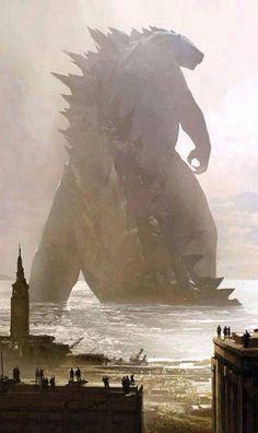 Godzilla 2014 Fan Art Round-Up