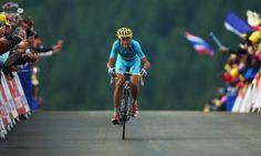 Vincenzo Nibali winning stage 10.