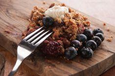 Nutiva Berry crumble