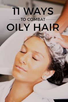 How To Get Rid of Oily Hair: 11 Secrets Revealed - Essentious hair care experts give tips on how to manage oily hair. Learn more at: http://essentious.com/blog/how-to-get-rid-of-oily-hair/ #howtogetridofoilyhair