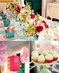 Strawberry Party :: decor, inspiration