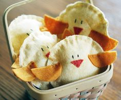 chicks-easy hand sewing sewing for Easter or spring
