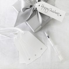 Gift Tags - Set of 6 | Christmas | The White Company