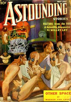 Astounding Stories  (May 1937), cover by Harold Brown