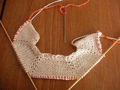 Basic Top Down Raglan Sweater : no circular knitting required, minimum sewing - Minuscule