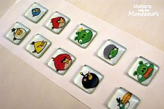 DYI glass magnets
