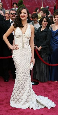 Marion Cotillard in Jean Paul Gaultier at the 2007 Oscars - probably my favorite Oscars dress ever.