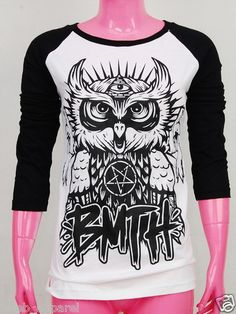 Bring Me the Horizon Oliver Sykes Lee Malia BMTH Rock T-Shirt Skinny S,M,L   eBay
