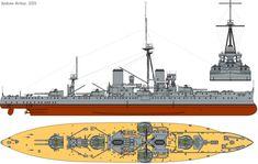 File:HMS Dreadnought (1911) profile drawing.png