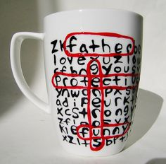 Personalized Word Search | Ceramic Mug