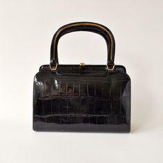 Fab.com black doctor bag