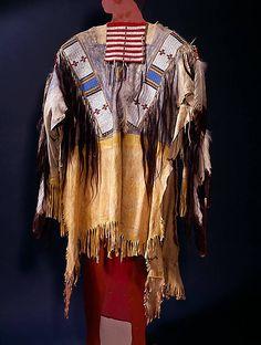 Shirt Miniconjou, 1896. Cheyenne River Res.