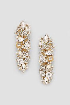 Crystal Katherine Earrings in Illume #earrings #jewelry