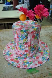 Resultado de imagem para como fazer um chapéu reciclado
