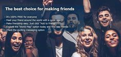 A social network service dreaming to be 'the next Facebook' is in the spotlight. MeetTheWorld.com which started with the philosophy that shares the world quickly and easily, is bringing the users from all over the world together. https://www.meettheworld.com/ #Dating #Onlinedating #Onlinechatting #Chatting #Penpal