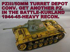 PZ III/50mm Turret Depot Conv. Kurland (January 8, 2015)