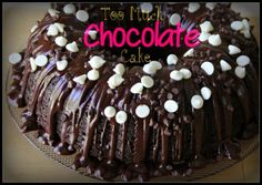 Too Much Chocolate Cake | My Mommy Style