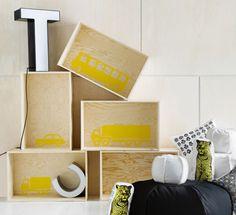 DIY: VERSATILE USE OF WOODEN BOXES - Dekolehti.fi