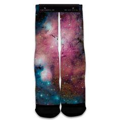 Function - Galaxy Pug Printed Sock