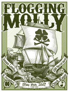Flogging Molly - I like it that they do songs with electric instruments that could just as well be done traditionally.