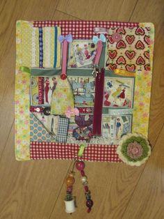 Fidget lap quilt, sensory, dementia, stimulation quilt, ladies