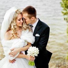 Наша прекрасная #невеста София в платье и аксессуарах от ТМ #Dominiss