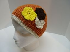 Teen/ Adult Hand Crocheted Burnt Orange by Tinastreasureisland, $7.00