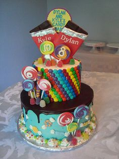 Candy cake by Let There Be Cake, via Flickr
