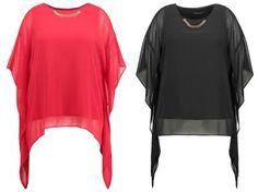 Dorothy Perkins Curve Blusa Red camisetas y blusas red Perkins Dorothy Curve blusa Noe.Moda