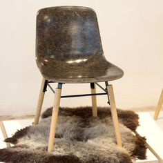Solid Wool is a new composite material made using fleece from upland UK sheep – a bit like fiberglass but made of wool
