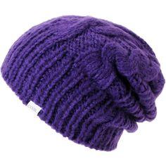 #Coal Girls Parks Purple Cable Knit #Beanie #hat #zumiez