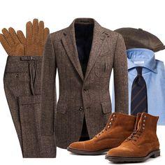 Fredagsinspiration - Den lediga kostymen