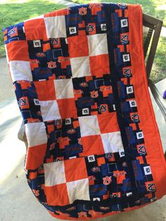 Auburn  Quilt by NeNesQuilts on Etsy