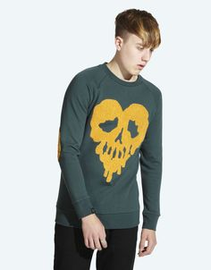Drop Dead Skull Fucked Crewneck - £50  www.dropdead.co