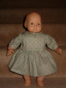 Dress to fit 15 Inch Bitty Baby Dolls - Doll Making
