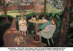 "Henri Matisse Family | Henri Matisse - ""Tea"", 1919"