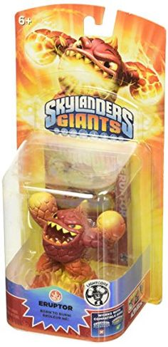 Skylanders Giants Lightcore Eruptor Character >>> Find out more about the great product at the image link.