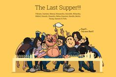 The Last Supper - A token of love from Mumbai DD to Bangalore DD #Tofu #moments #tequila